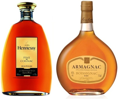 Quelle difference entre cognac et armagnac